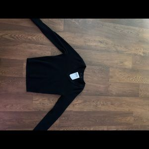 Brandy Melville cropper black sweater